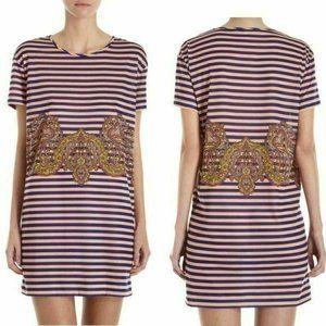 NWT Carven Stripe jersey dress size S